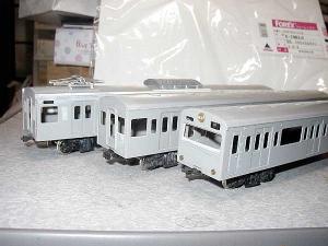 ホビーモデル、101系キット改造103系