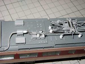 モハ182-屋上配管、その1