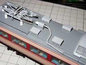 モハ182-屋上配管、その3