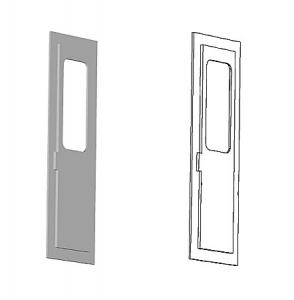 国電乗務員扉、CAD図