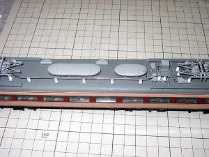 北近畿用183系、モハ484高圧配管1