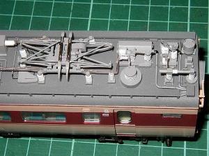 北近畿用183系、モハ484高圧配管4