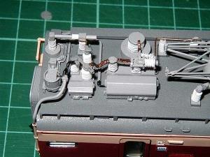 北近畿用183系、モハ484高圧配管6