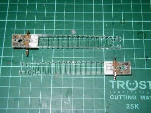 配線用端子を取り付けた、照明ユニット
