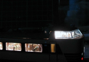 クハ、運転台部分