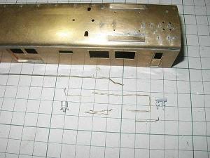 クモヤ145-100代、屋上配管、後位側