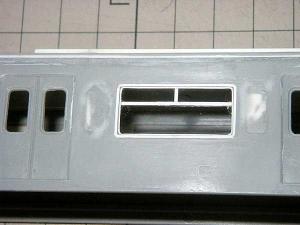 モハ103体質改善窓試作