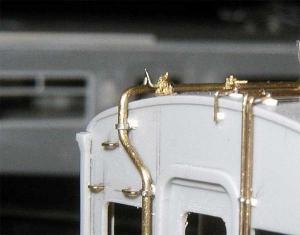 モハ103パンタ鉤外し垂直クランク
