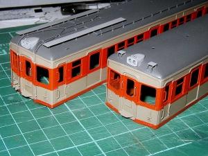東武7890系塗装済み車体