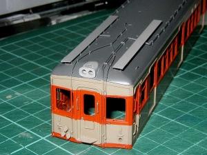 東武7890系Mc車塗装済み車体