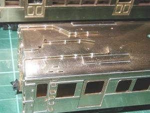 クモハ73、屋上配管