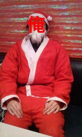 サンタ→白衣→トナカイ...の3段仕込み!