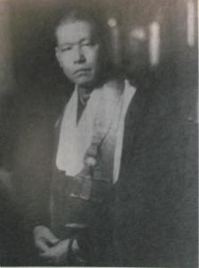 曹渓庵佐々木指月老師 1939年頃 ニューヨークにて