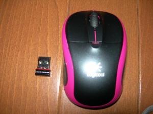 マウスとレシーバー