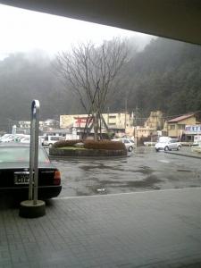 高尾山口駅前