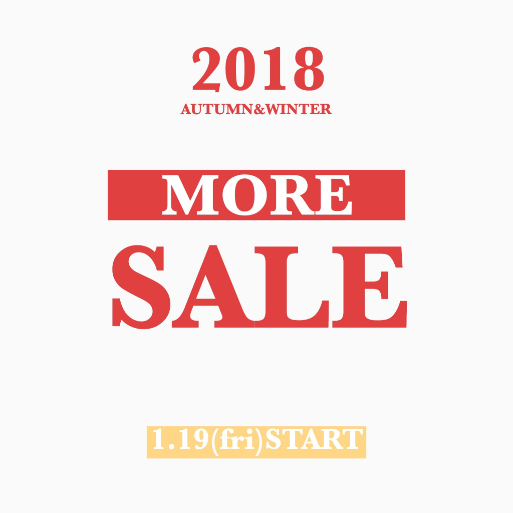 2018 AUTMUN & WINTER MORE SALE