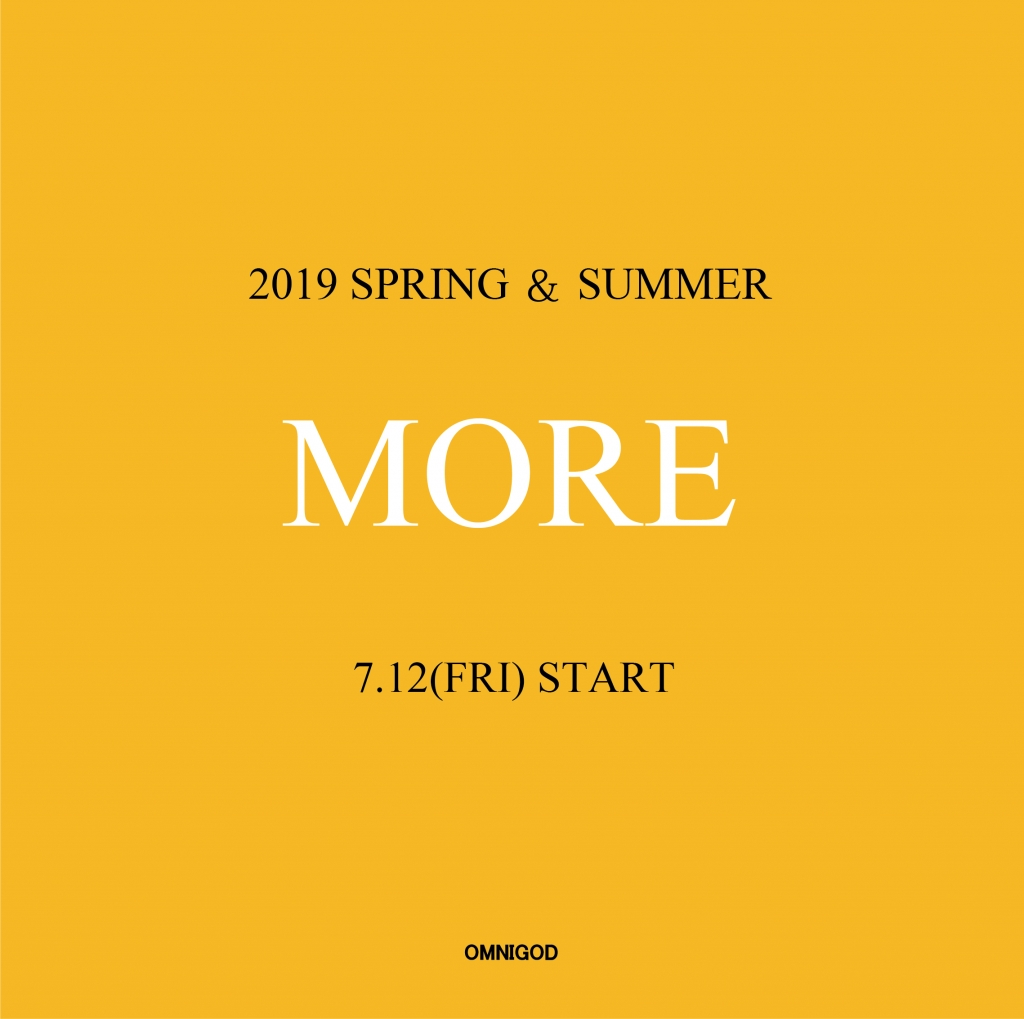 2019 SUMMER MORE SALE