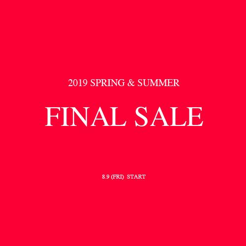 2019 SUMMER FINAL SALE