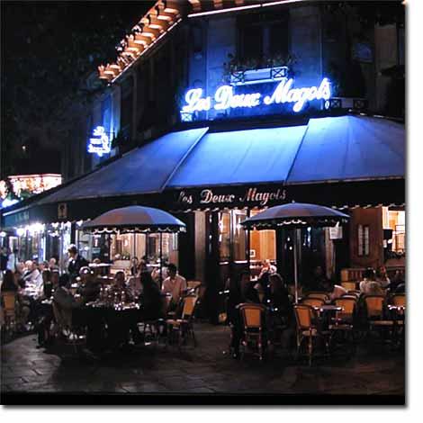 フランスモンマルトルカフェ