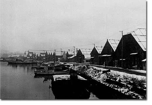 昭和五〇年代の小樽運河