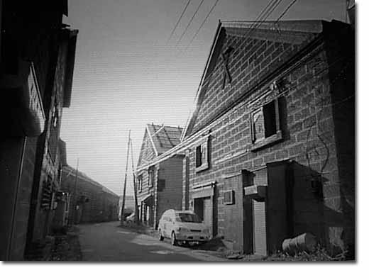 小樽運河の倉庫群