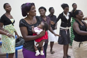 Child-born Celebration at Sseko Work Shop in Uganda