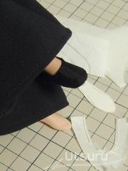 秦くんの足