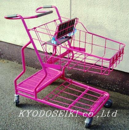 ショッピングカート(PINK)