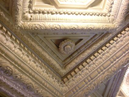 エントランスホール天井部分