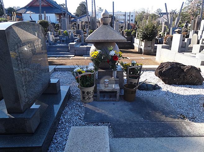 今東光の墓