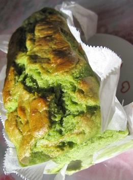 バナナと小松菜ケーキ1