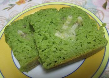バナナと小松菜ケーキ2