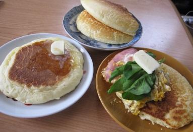 米粉ホットケーキ4
