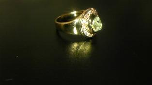 ラフダイヤモンドリング