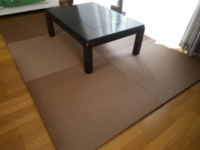 フローリング薄畳