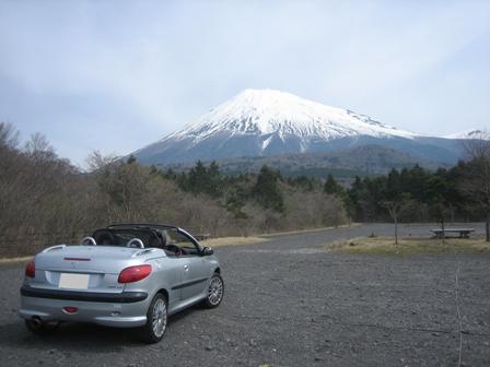 富士山スカイラインにて