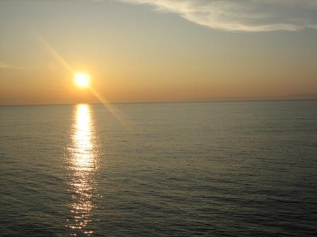夕日シーサイド7