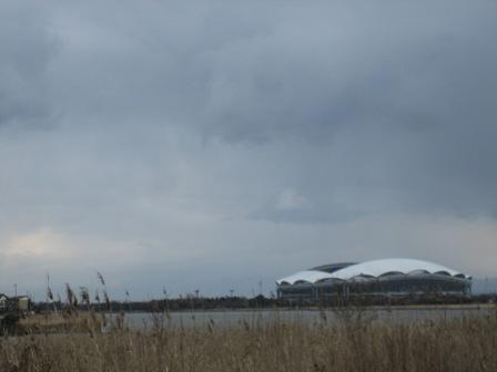12月30日 曇り空