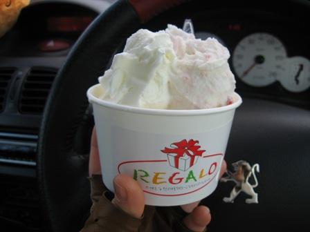 レガーロのアイス