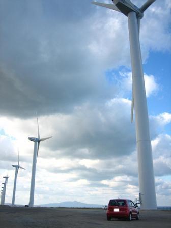 風車がいっぱい!さぁ、どこでしょう??