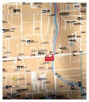 佐保橋周辺案内図
