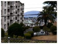 鶴舞団地から生駒山