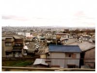 車窓から東大阪市街