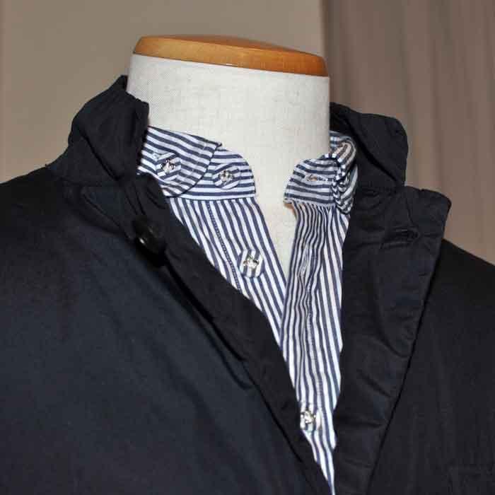 O GRAN NASO!(オーグランナーソ!)丸襟BDシャツBLUEストライプ
