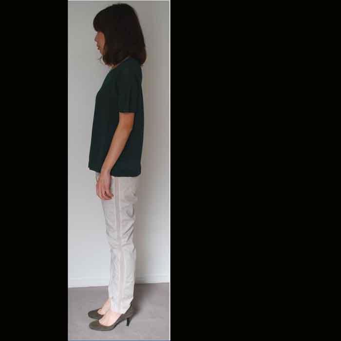 KOFTA[コフタ]綿麻サマーニットgreen