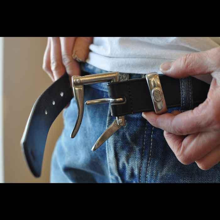 DAINES & HATHAWAY (デインズ&ハザウェイ) 30mm クイックリリースベルト BLACK