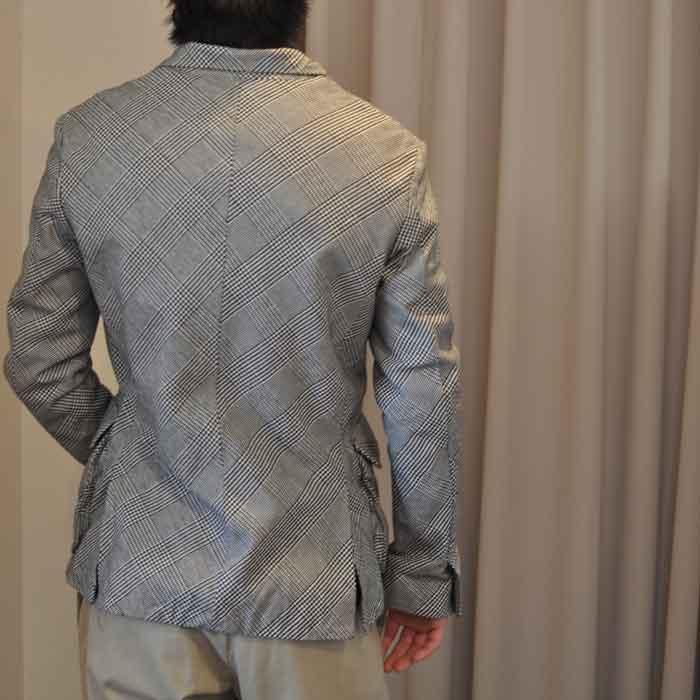 kemit [ケミット] グレンチェックジャケット 44 size