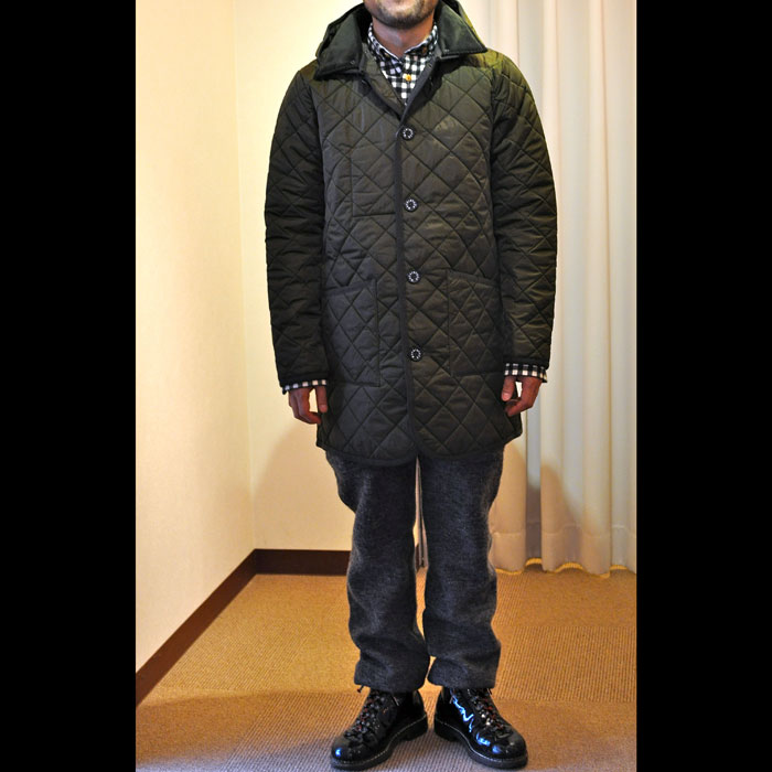 MACKINTOSH/マッキントッシュMens Wavery Longカーキ