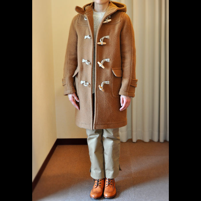 TRADITIONAL WEATHERWEAR HOLKER ダッフルコートcamel