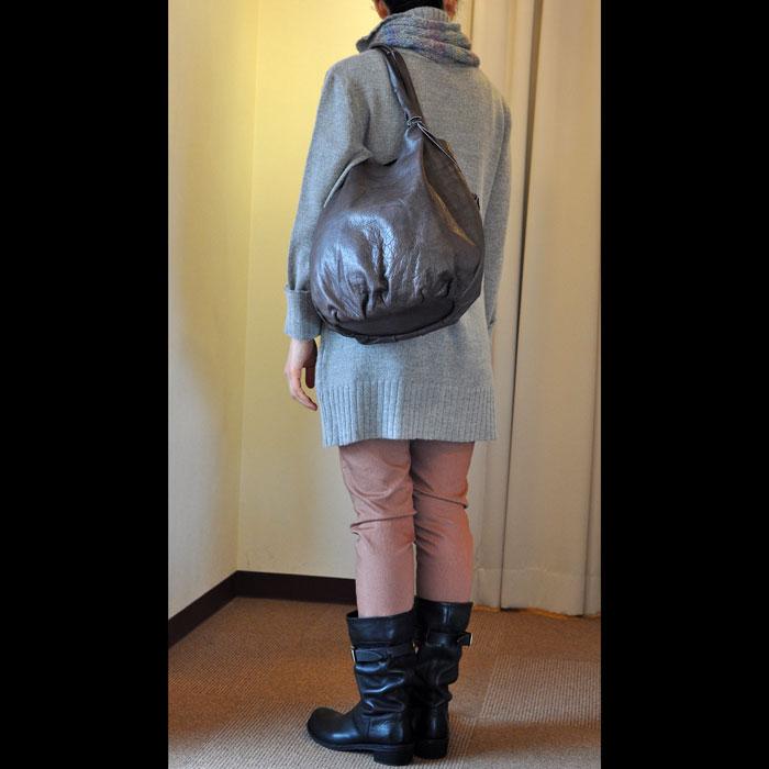 Alchimia [アルキミア] 切りっ放しトートバッグ gray